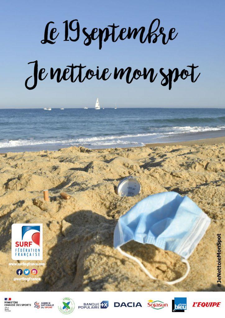 Affiche-nettoie-sport-surf-plages