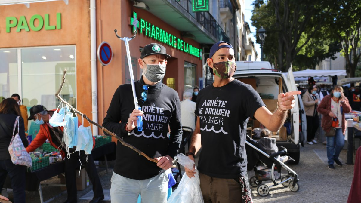 Pollution 1 déchet par jour Ecolosport