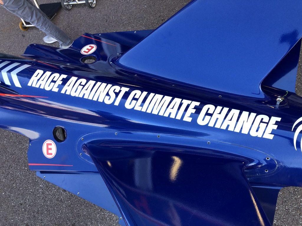 Race Against Climate Change Formula E Ecolosport