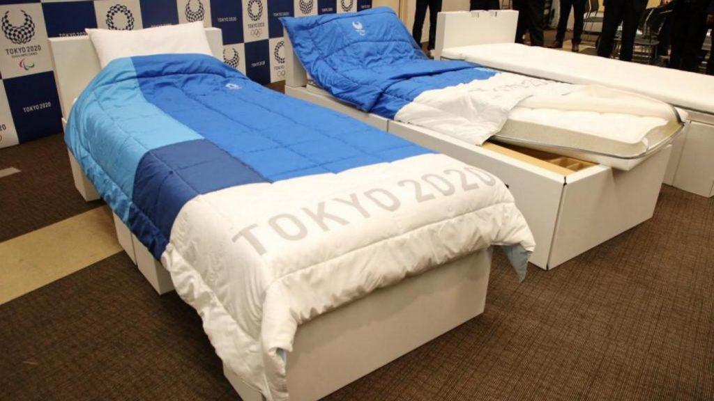 Jeux Olympiques Lits Carton Tokyo 2020 2021 Ecologie Ecolosport
