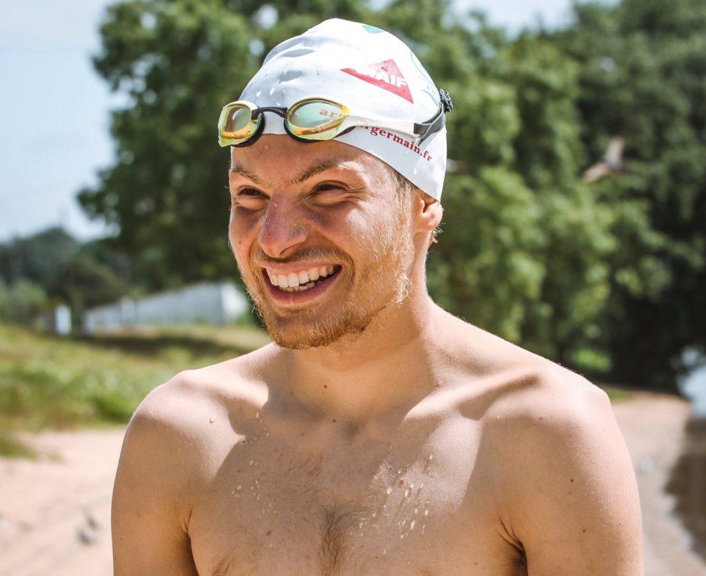 Arthur Germain traversée nage Seine Ecologie Sport Ecolosport
