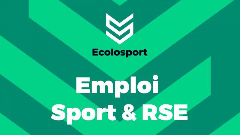 Emploi Sport & RSE Ecolosport