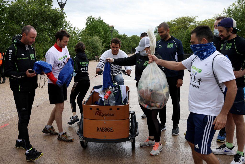 Théo Curin Tony Parker Plogging Ecologie Sport Ecolosport
