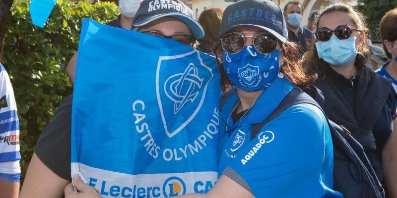 Eco-drapeaux Castres Olympique CO Ecologie Ecolosport Rugby