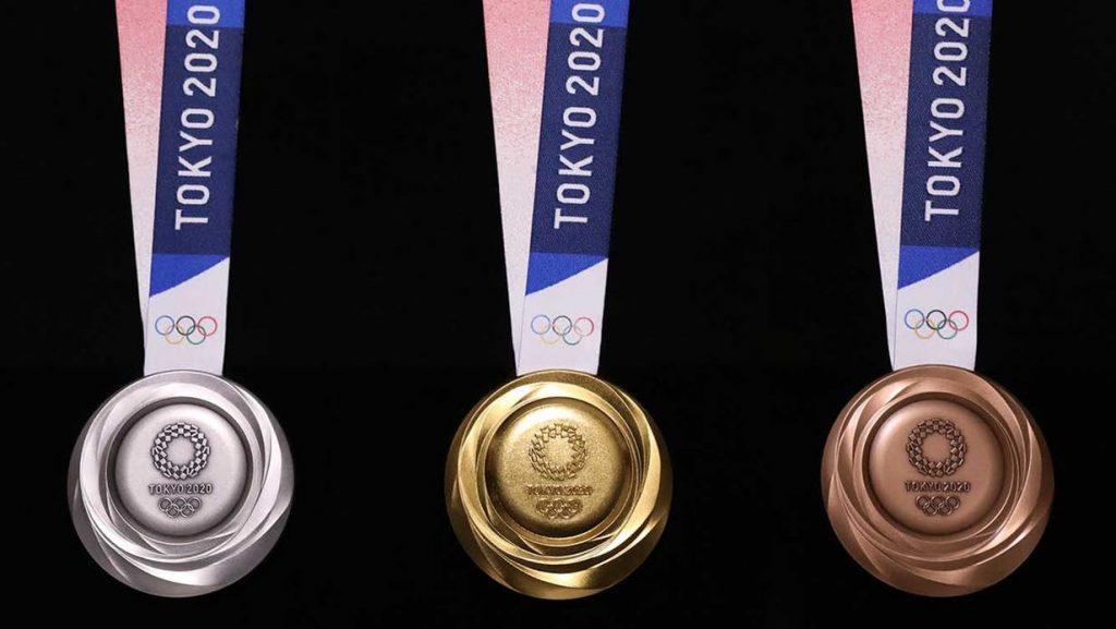Jeux Olympiques Médailles Tokyo 2020 2021 Ecologie Ecolosport