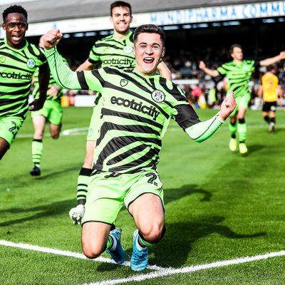 Forest Green Rovers Fully Charged New Lawn Ecologie Football Ecolosport