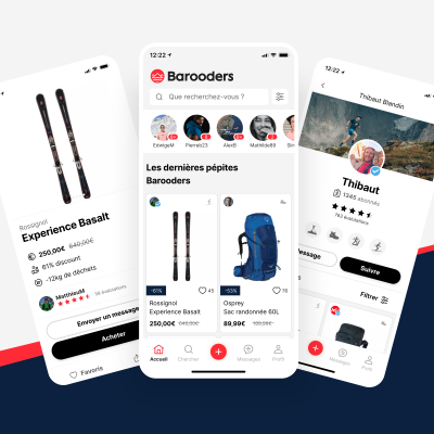 Barooders E-commerce Outdoor Occasion Ecologie Sport