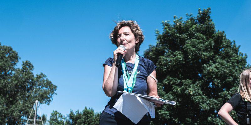 Mélanie Cambon Run for Planet Ecologie Running Ecolosport
