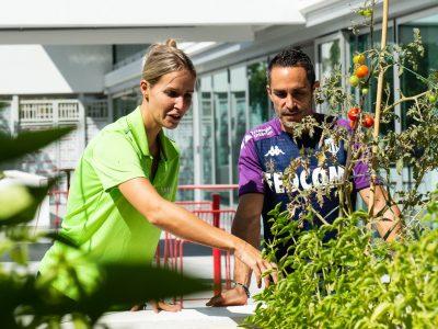 AS Monaco Potager Nutrition Ecologie Football Ecolosport