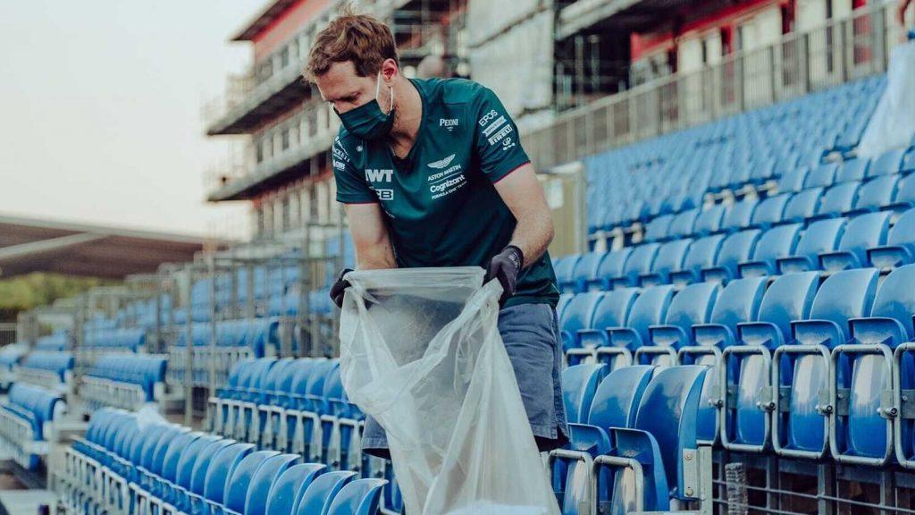 Sebastian Vettel Ecologie Sport Formule 1 Extinction Rebellion