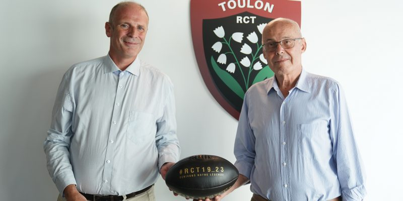 RC Toulon Veolia Charte 15 engagements RCT Ecologie Rugby