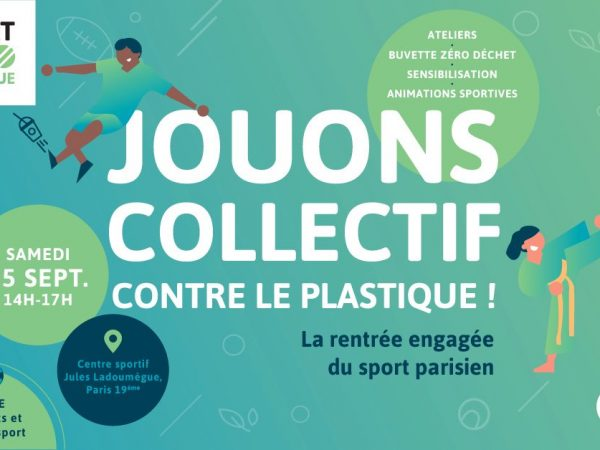 Sport Zéro Plastique Paris Ecologie Ecolosport