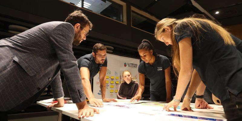 Team EDF Fresque du Climat Ecologie Sport Ecolosport